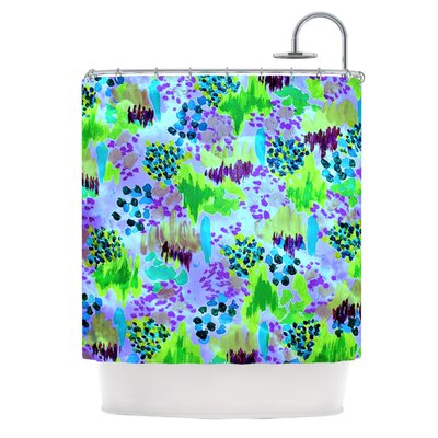 Lagoon Love by Ebi Emporium Shower Curtain