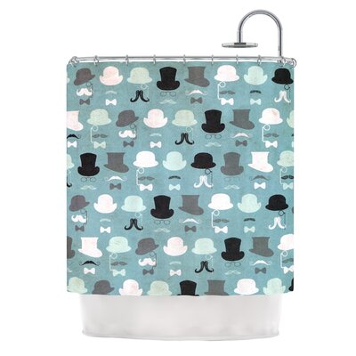 Hats Off To You by Heidi Jennings Shower Curtain