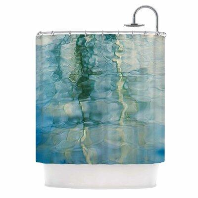 Fluidity Series 2 by Malia Shields Shower Curtain