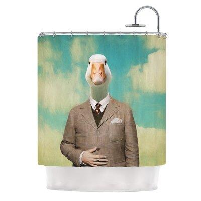 Passenger 15A by Natt Duck Shower Curtain