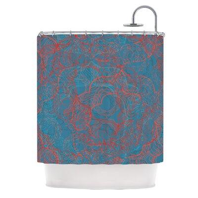 Mandala by Patternmuse Shower Curtain