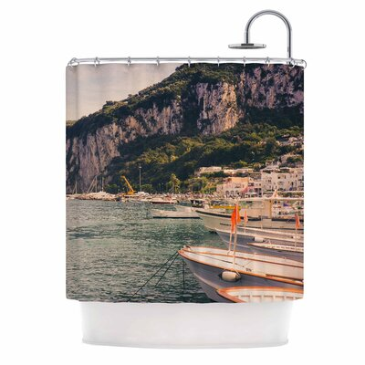 Boats of Paradise by Violet Hudson Shower Curtain