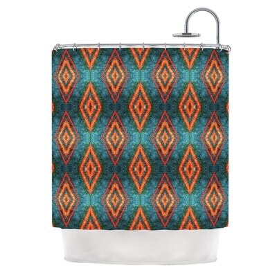 Diamond Sea by Anne LaBrie Shower Curtain