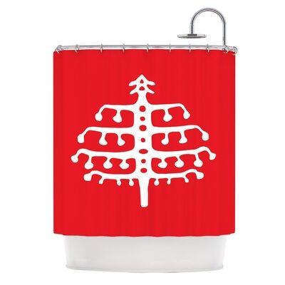 Deco Tree by Miranda Mol Holiday Shower Curtain