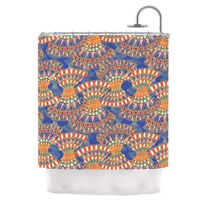 Energy by Miranda Mol Abstract Shower Curtain