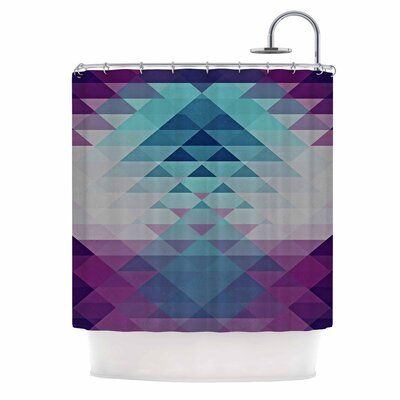 Hipster Girl by Nika Martinez Shower Curtain