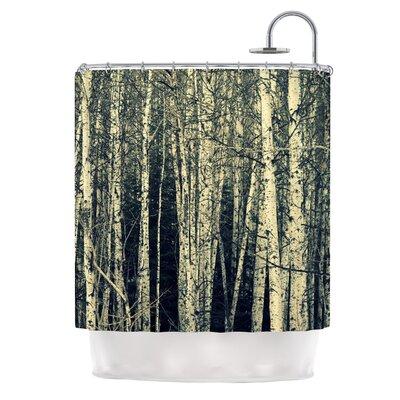 Birch by Robin Dickinson Shower Curtain