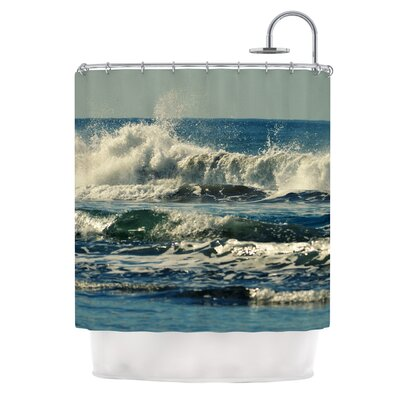 Forever Young by Robin Dickinson Coastal Shower Curtain