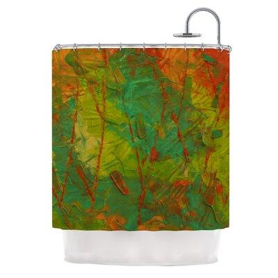 Evergreens by Jeff Ferst Shower Curtain