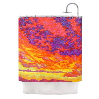 View From the Foothills by Jeff Ferst Shower Curtain