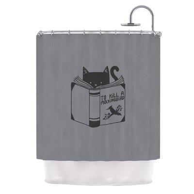 To Kill A Mockingbird by Tobe Fonseca Cat Shower Curtain