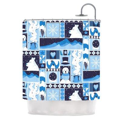 Winter by Tobe Fonseca Seasonal Shower Curtain