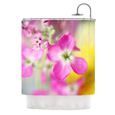 Lucky One by Beth Engel Floral Photography Shower Curtain