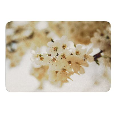 """Flowering Pear by Angie Turner Bath Mat Size: 17""""W x 24""""L"""