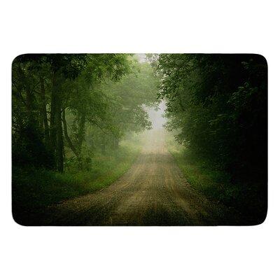 "Foggy Road by Angie Turner Bath Mat Size: 17""W x 24""L"