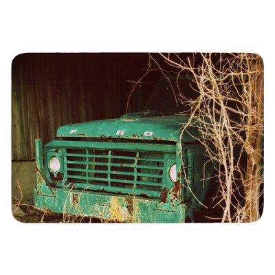 "Ford by Angie Turner Bath Mat Size: 17""W x 24""L"