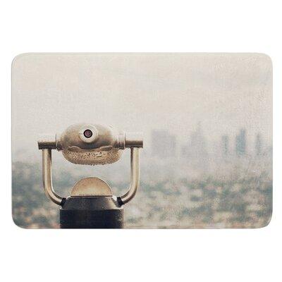 "The View LA by Catherine McDonald Bath Mat Size: 17""W x 24"" L"