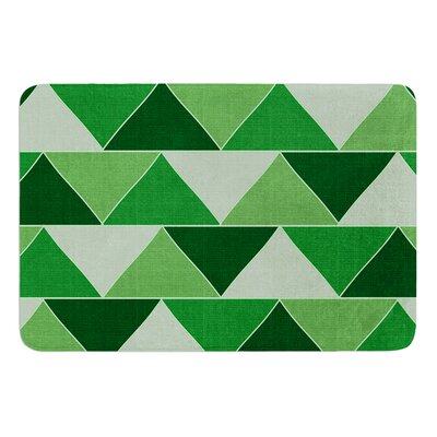 "Emerald City by Catherine McDonald Bath Mat Size: 17""W x 24"" L"