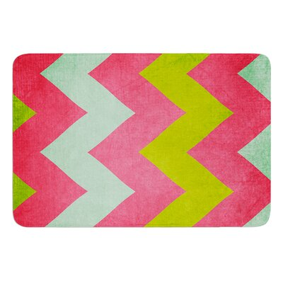 """Cocktails With Lilly by Catherine McDonald Bath Mat Size: 24"""" W x 36"""" L"""