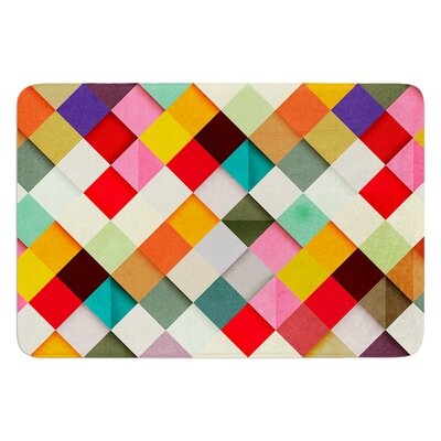 """Pass This On by Danny Ivan Bath Mat Size: 17""""W x 24""""L"""
