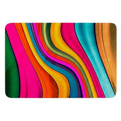 """Lov Color by Danny Ivan Bath Mat Size: 24"""" W x 36"""" L"""