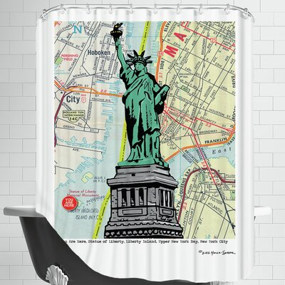 Statue of Liberty - Nyc Shower Curtain