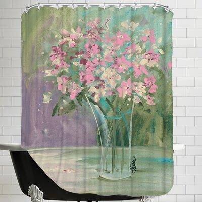 Pastel Blooms Shower Curtain
