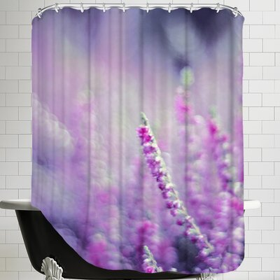 Flower Bloom Nature Shower Curtain