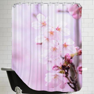 Cherry Blossom Japan Shower Curtain