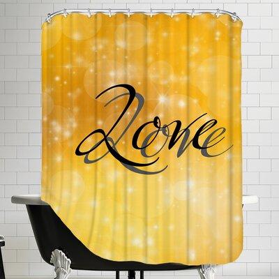 Design Of Love Valentine Shower Curtain