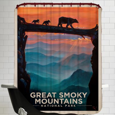 GSM 2 Shower Curtain