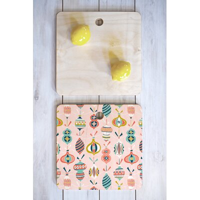 Decorated Cutting Board Color: Blush