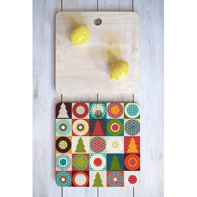 Geo Christmas Cutting Board