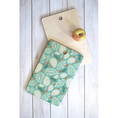 Winter Woodlands Sky Cutting Board