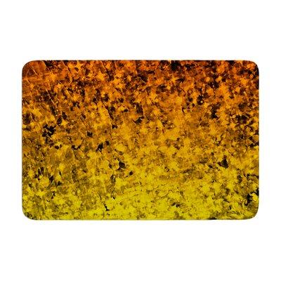 """Romance Me by Ebi Emporium Bath Mat Color: Tangerine, Size: 17""""W x 24""""L"""