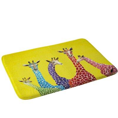 Giraffes Bath Rug