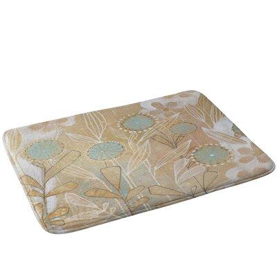Floral Bath Rug