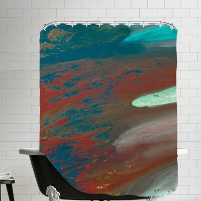 Coral Beauty Shower Curtain