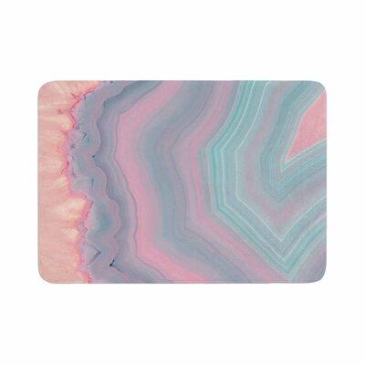 """Cafelab Sweet Agate Memory Foam Bath Rug Size: 0.5"""" H x 17"""" W x 24"""" D"""