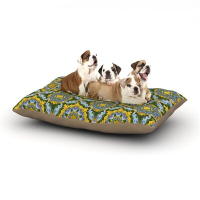 "Anneline Sophia 'Aztec Boho' Dog Pillow with Fleece Cozy Top Size: Small (40"" W x 30"" D x 8"" H)"