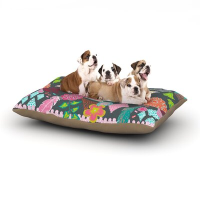 "Anneline Sophia 'Aztec Boho Tropical' Dog Pillow with Fleece Cozy Top Size: Small (40"" W x 30"" D x 8"" H)"