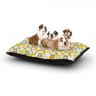 """Miranda Mol 'Effloresco' Dog Pillow with Fleece Cozy Top Size: Small (40"""" W x 30"""" D x 8"""" H)"""