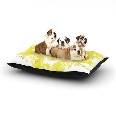"Miranda Mol 'Citrus Spritz' Dog Pillow with Fleece Cozy Top Size: Small (40"" W x 30"" D x 8"" H)"