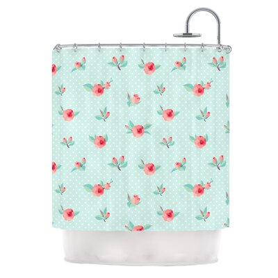 Happy Easter II Springtime Shower Curtain