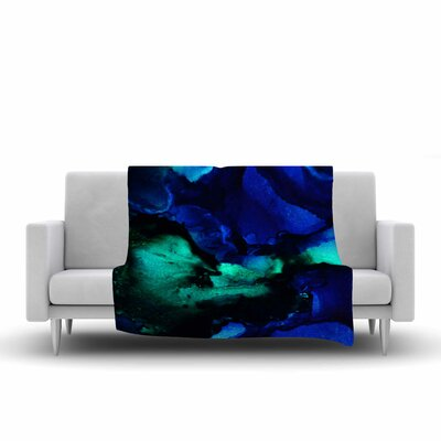 Claire Day Neptune Multicolor Painting Fleece Blanket