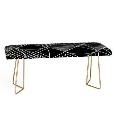 Fimbis Whackadoodle Faux Leather Bench