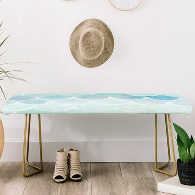 Wonder Forest Faux Leather bench
