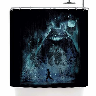 Frederic Levy-Hadida the Hidden Friend Shower Curtain