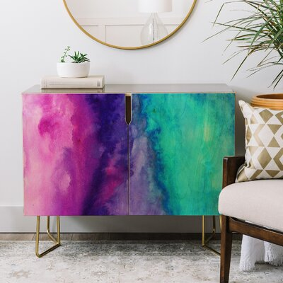 Jacqueline Maldonado the Sound Credenza 2 Door Accent Cabinet