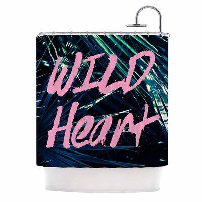 Ann Barnes Wild Heart 1 Shower Curtain